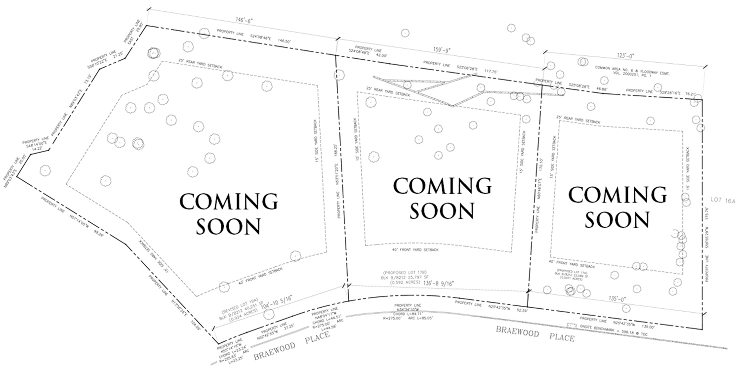 Available Lots at Glen Abbey